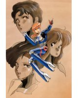 BUY NEW bubblegum crisis - 24340 Premium Anime Print Poster