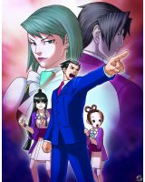BUY NEW phoenix wright ace attorney - 143494 Premium Anime Print Poster