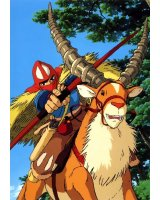 BUY NEW princess mononoke - 100491 Premium Anime Print Poster