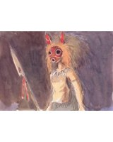BUY NEW princess mononoke - 142797 Premium Anime Print Poster