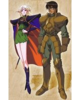 BUY NEW record of lodoss war - 10019 Premium Anime Print Poster