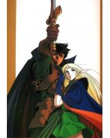 BUY NEW record of lodoss war - 122335 Premium Anime Print Poster
