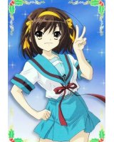 BUY NEW the melancholy of haruhi suzumiya - 118102 Premium Anime Print Poster