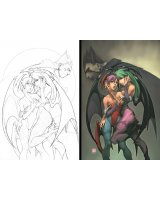 BUY NEW darkstalkers - 194915 Premium Anime Print Poster