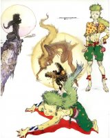 BUY NEW final fantasy iv - 165486 Premium Anime Print Poster