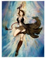 BUY NEW final fantasy x2 - 9963 Premium Anime Print Poster