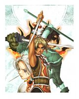 BUY NEW gensou suikoden -  edit684 Premium Anime Print Poster