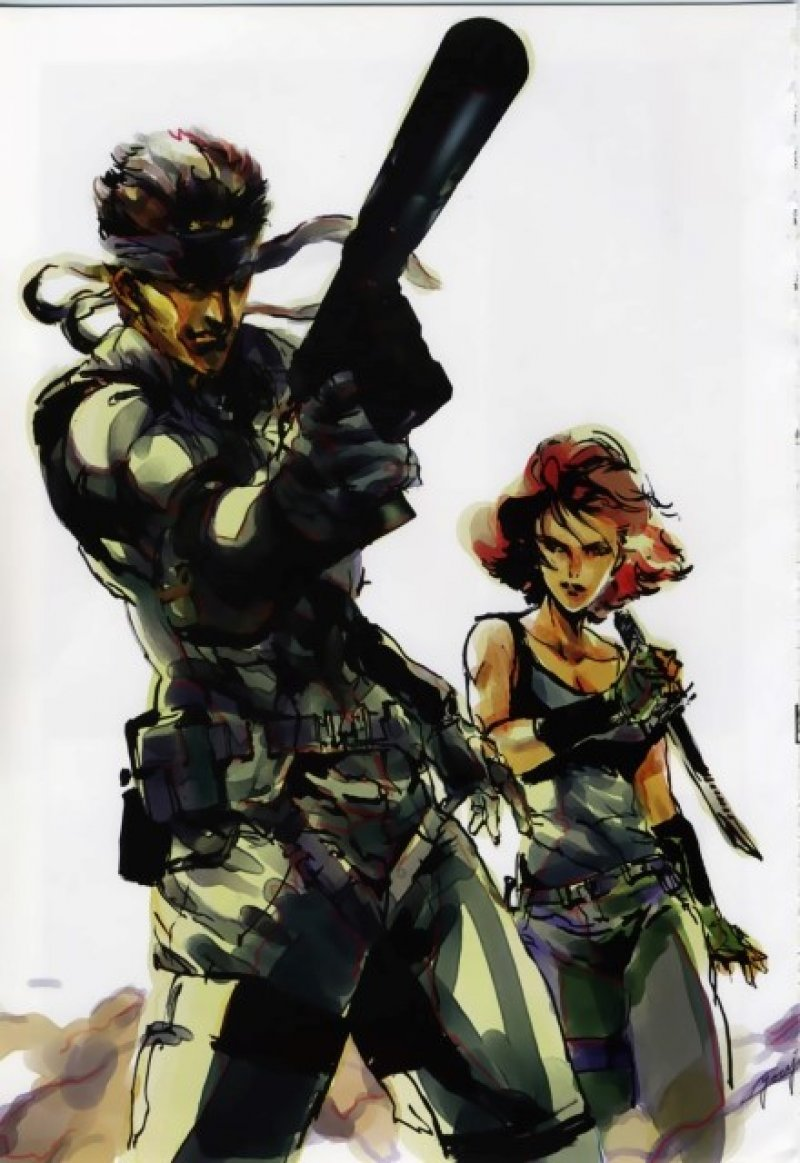 BUY NEW metal gear solid - 90836 Premium Anime Print Poster