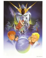 BUY NEW mobile suit gundam chars counterattack - 153197 Premium Anime Print Poster