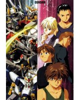 BUY NEW mobile suit gundam wing - 26942 Premium Anime Print Poster