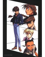 BUY NEW mobile suit gundam wing - 3526 Premium Anime Print Poster