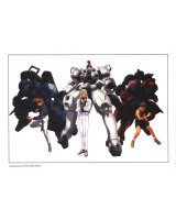 BUY NEW mobile suit gundam wing - 3542 Premium Anime Print Poster