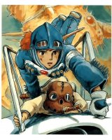 BUY NEW nausicaa valley of the wind - 3306 Premium Anime Print Poster